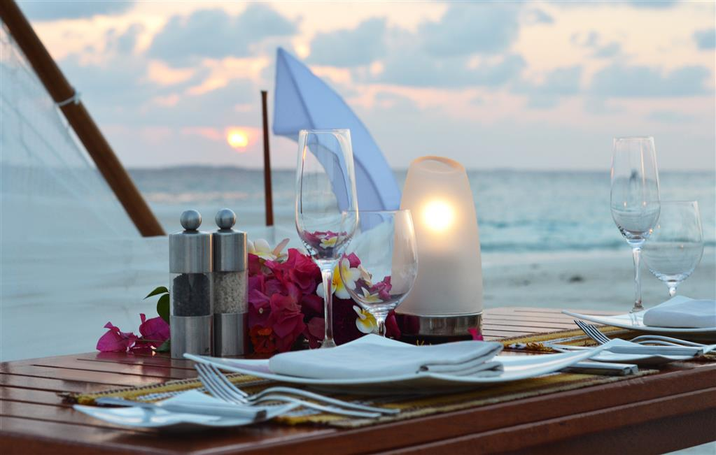 JA Manafaru Beach Dinner