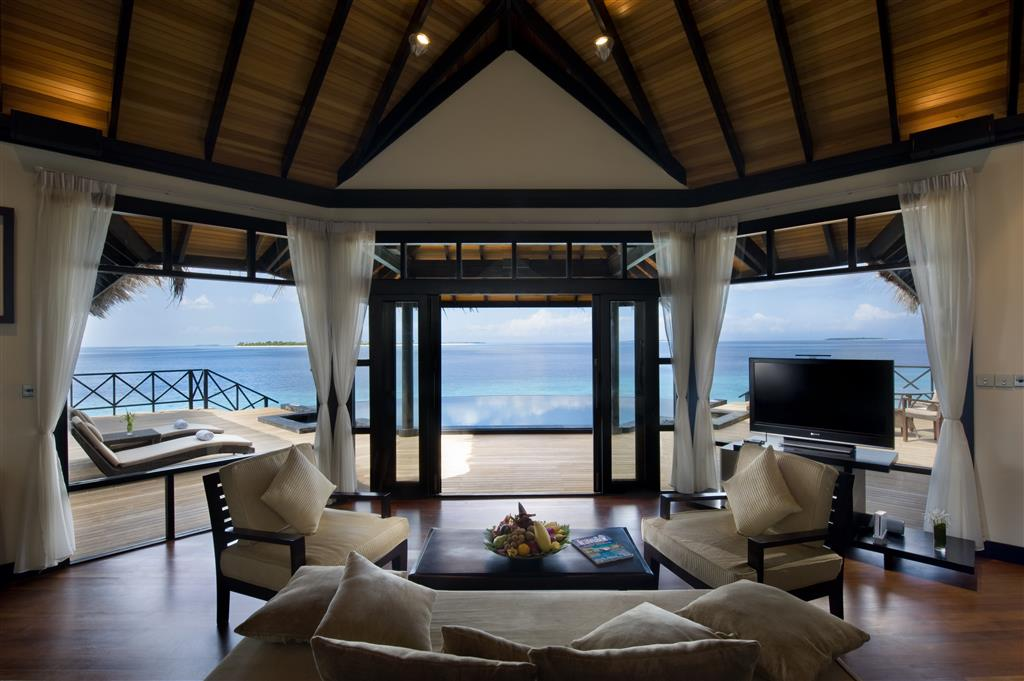 JA Manafaru Grand Water Pavilion living room