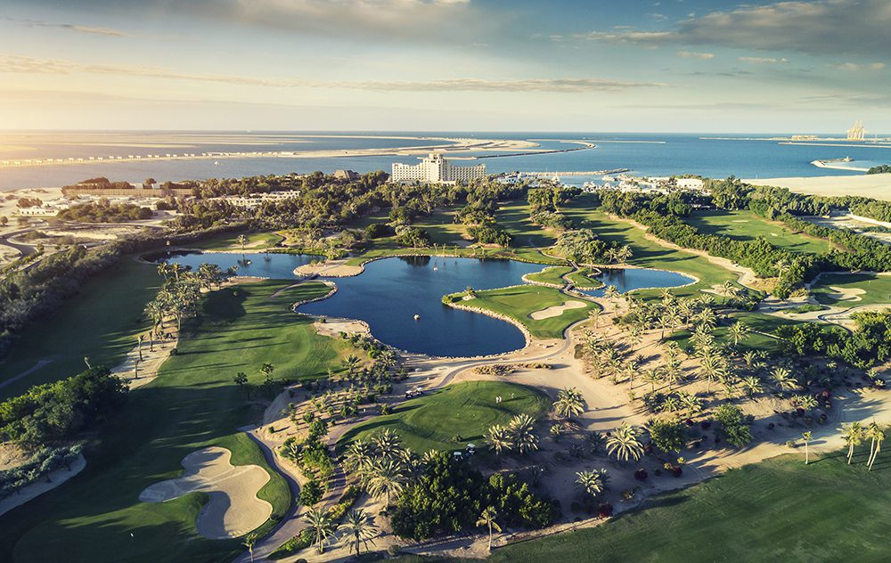 JA Jebel Ali Beach Hotel - Golf Course Aerial View