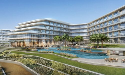 JA Lake View Hotel, Dubai Artist Impression