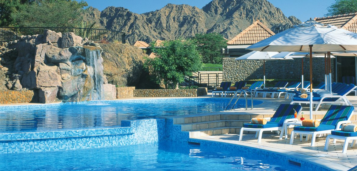 Hatta Fort Hotel Rool Pool View