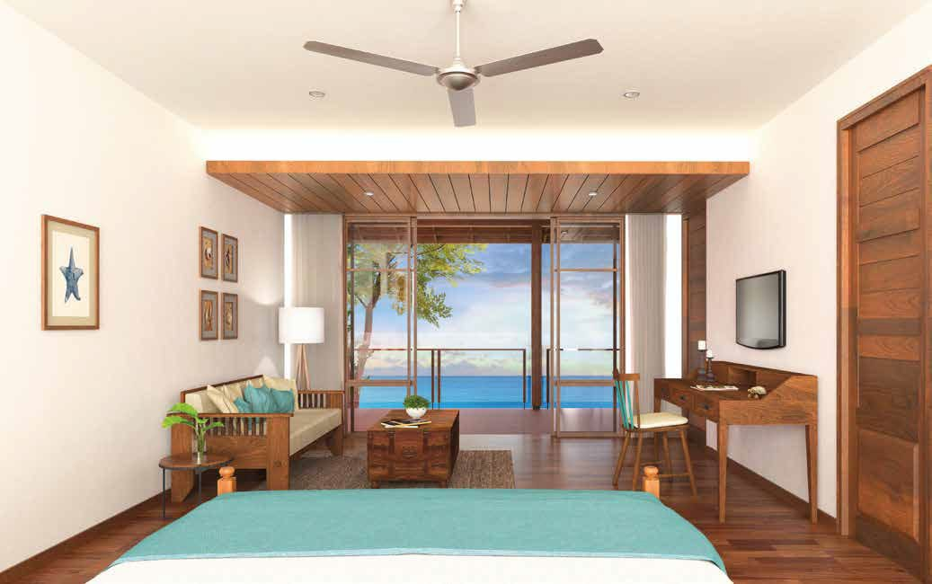 Villas at JA Enchanted Waterfront Villas_Bedroom- Lodge Room